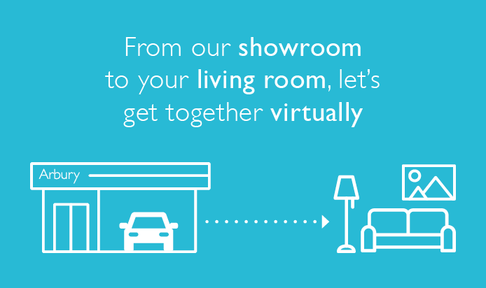All (virtual) systems go – Book your virtual appointment with #TeamArbury today